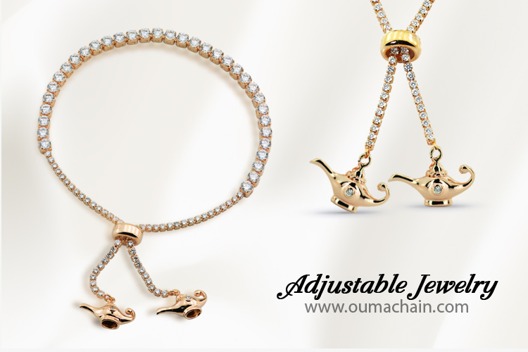 Adjustable Jewellery Lucky Lamp Bracelet