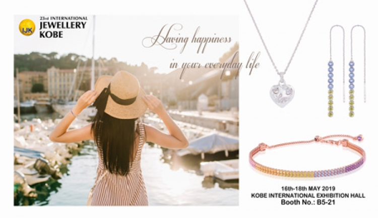 23rd INTERNATIONAL JEWELLERY KOBE JAPAN BOOTH NUMBER B5 21
